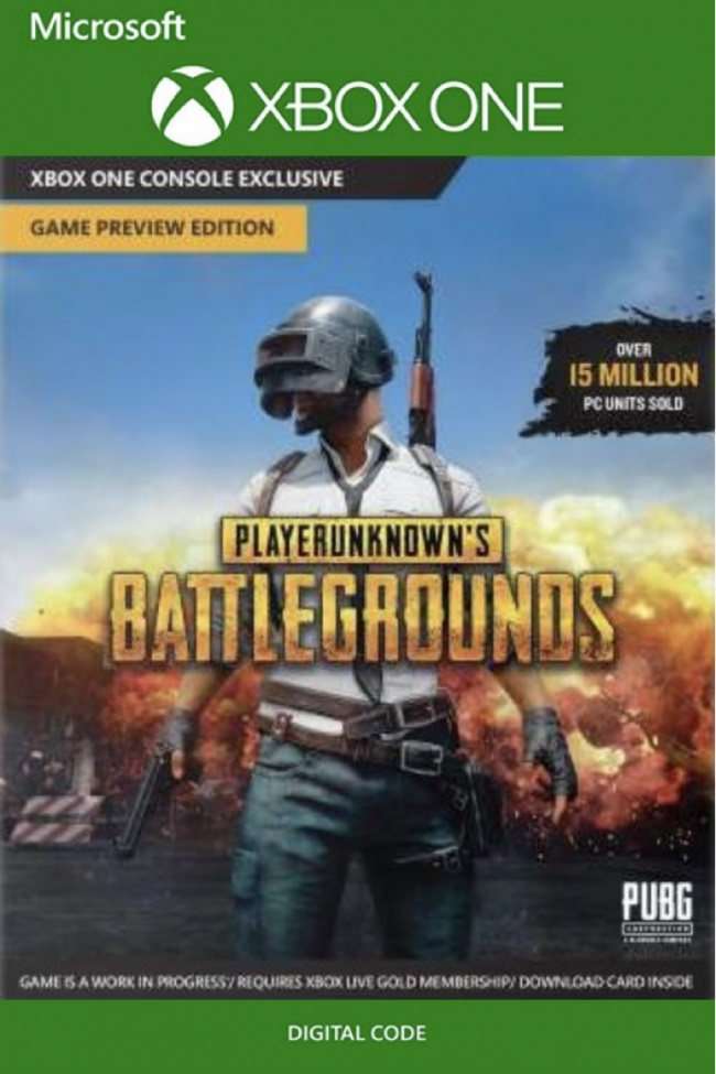 Playerunknown's Battlegrounds PUBG XBOX ONE