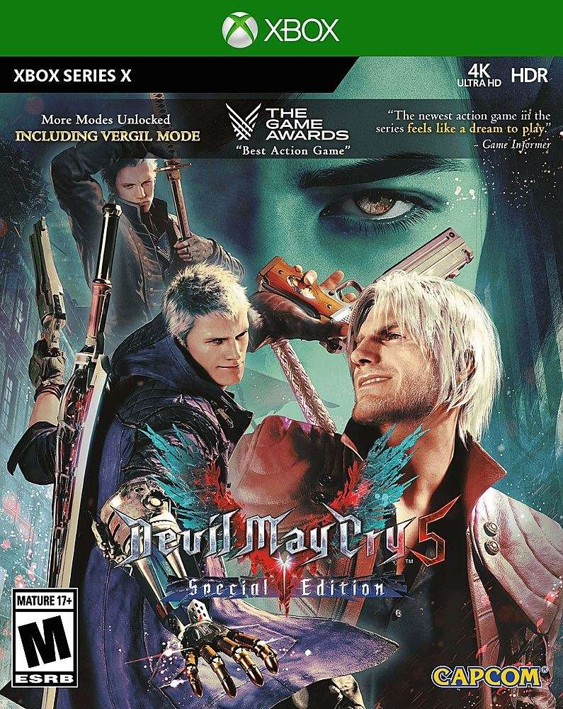 Devil May Cry 5 Special Edition Z Xbox Series X
